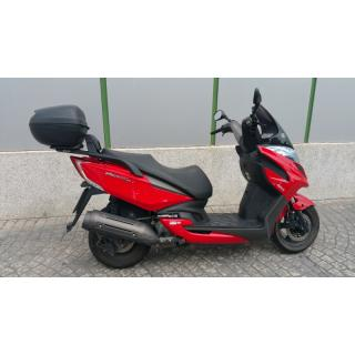 KYMCO YAGER 125 GT ROJO
